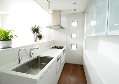 キッチンやお水まわりも安心工事
